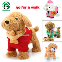 Wholesale Walking Dolls For Kids - Wholesale-Electronic toys Baby toy Dog Walking singing dancing   Outdoor Fun Doll Toys   Electronic Pet for kids