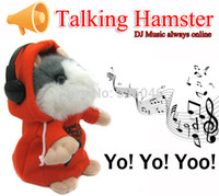 Wholesale Dj Hamster - Wholesale-DJ Music Lovely Talking Hamster, Hot High-performing DJ Player toy, Record & Play DJ Hamster Toys for children