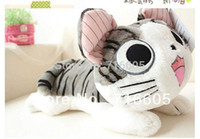 Wholesale Low Price Cat Toys - Wholesale-Drop Shipping 50CM Plush Toys Chi's Sweet Home High Quality Low Price Charm Cat doll Lovers Christmas Gifts Birthday Gift