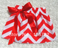 Wholesale Zig Zag Skirt Girls - Wholesale-free shipping 2015 summer baby girl Boutique skirt,cute zig zag cotton short skirts,chevron Mini skirts for young girl 6pcs lot