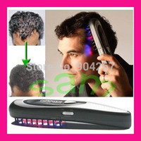 Wholesale Power Grow Combs - Wholesale-Free shipping hot retail laser hair Health care beauty comb, power grow comb massager