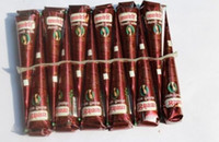 Wholesale Deluxe Tattoo - Wholesale-Authentic original Kashmir imports Henna natural jet brown plant Henna tattoo paste into the dark Deluxe Edition of India