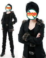 Wholesale Izaya Cosplay Coat - Wholesale-Durarara!! Izaya Orihara Hoodie coat Cosplay Costume coat+ shirt+pants