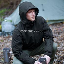 Wholesale Waterproof Hunting Jackets - Wholesale-Stealth hoodie TAD Soft Shell Tactical Jacket quality patrol Military Tactical Hunting Jackets ranger hoodie Waterproof