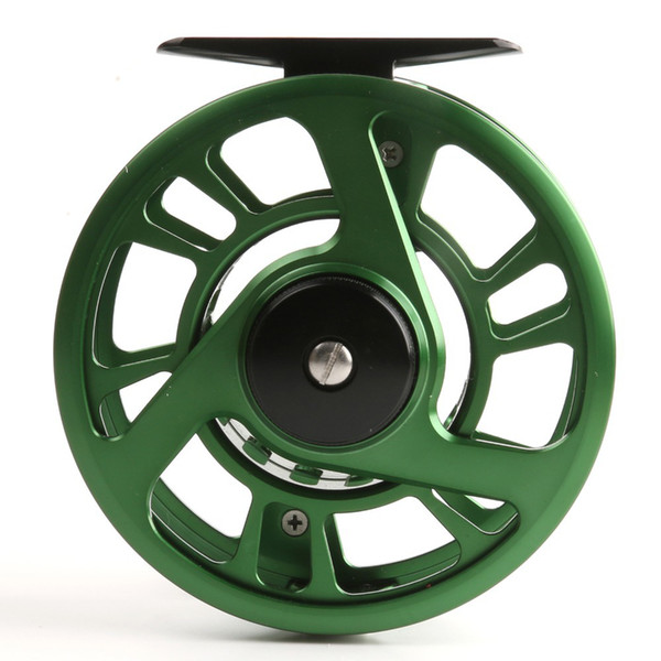 Wholesale-High Quality NZ 5/6wt Fly Fishing Reel CNC Machine Cut Large Arbor Aluminum Fly Reel