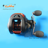 Wholesale Baitcasting Reel High Speed - Wholesale-New 10+1BB Ball Bearings Right Hand Bait Casting Carp Fishing Reel High Speed Baitcasting Pesca 6.3:1 AF103BR Black fly fishing