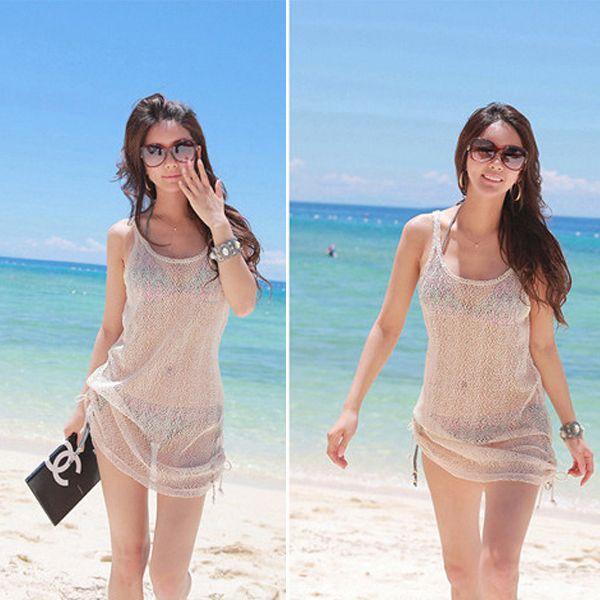 Gauze Beach Dresses