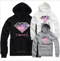 Wholesale hip hop clothing diamond hoodie - Wholesale-Diamond Supply hoodie for men free shipping diamonds hoodies hip hop hoody brand new 2015 sweatshirt men's clothes pullover