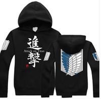 Wholesale Attack Titan Sweater - Wholesale-Attack on Titan Giant Shingeki no Kyojin Scouting Legion costume hoodie sweater 01