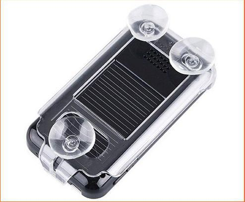 10pcs / lot kit de coche manos libres Bluetooth con alimentación solar carkit altavoz LCD del coche electrónica 200C
