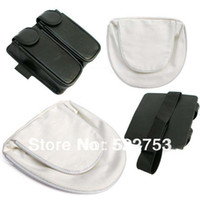 Wholesale Kunai Naruto - Wholesale-Free Shipping 2 Pcs NARUTO Cosplay White & Black Naruto and Kunai Bag Set