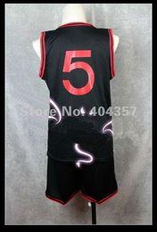 Wholesale Cosplay Aomine - Wholesale-Kuroko's Basketball Kuroko no Basuke Aomine Daiki GAKUEN Cosplay Costumes Sports Suit Jersey