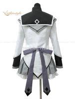 Wholesale Cape Cheap Costume - Wholesale-Cheap Custom made Akemi Homura Cosplay Costume from Puella Magi Madoka Magica