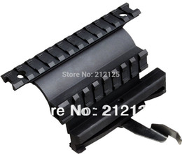 Wholesale Picatinny Side Mount - Wholesale-Tactical AK Series Double Picatinny Weaver Rails QD Side Mount Quick Release Style fit 47   74 accessories MNT-978