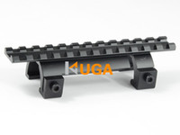 Gros-NCSTAR style MP5, MK5, HK, G3, GSG5 Claw Scope Mount For Hunting Rifle Picatinny / Weaver ferroviaire Handguard -MDMP5