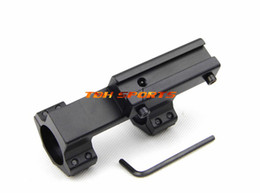 Wholesale One Piece 11mm Rings - Wholesale-One piece 1inch extended offset rifle scope mount, 11mm mount&rings with stop pin+Free shipping(SKU12050126)