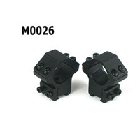 Gros-2x Rifle Scope 25.4mm Low Dovetail Ring Mount / 11mm Base de M0026