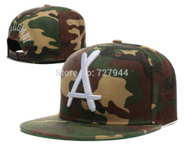 Wholesale Tha Alumni Snapback Sale - Wholesale-Hot sale cheap Tha Alumni Snapback hats camo Fashion mens women casual baseball caps Free Shipping