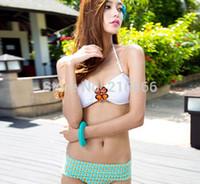 Wholesale Sexiest Women Bikinis - Wholesale-new 2015 swimwear bikini swimsuit female swimwear women bikini bottom sexiest lingerie high waist bikini beach #CCO10