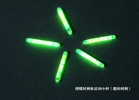Wholesale Chemical Fishing Lights Fishing Rod Tip Float Fish Bobber in Green Colour Glow Stick Size mmEV