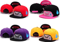 Wholesale Caps Googims - Wholesale-Googims HARAJUKU hat summer women's hiphop flat along the cap hip-hop cap .