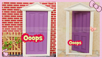 Wholesale fairy doors factory pcslot cute toys girls fairy doors for children minature doors for kids