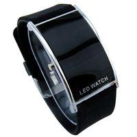 Wholesale Kids Girls Bracelet Watches - Wholesale-12 Color Retail Fashion LED Watch for Ladies Digital Bracelet Wristwatches Women Men Kids Boys Girls Unisex  Silicone LED012