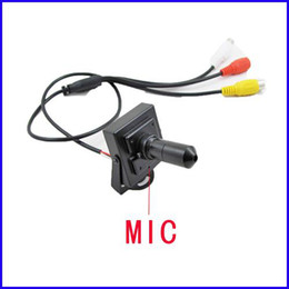Wholesale Cctv Lens Mm - Mini 30 mm Pinhole lens Hidden Video Audio CCTV Color CMOS Camera (SC21)
