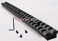 Wholesale long picatinny rail - Wholesale-20mm Mount 257mm Long Alumium Alloy Picatinny Rail for Scope and  Mount