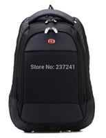 Wholesale Backpack Swissgear - Wholesale-2016 hot!SwissGear Pegasus quality goods travel bag and business backpack - nylon black hiking backpack - practical backpack