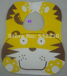 Wholesale Cover Baby Bib - Wholesale-Cute baby bibs kids bib extra large 100% cotton, 3 layers, waterproof. Super Large: 34x28cm, cover your baby's whole breast