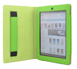 """Wholesale Book Case Tablet - Wholesale-Original Stand Slim PU leather smart cover case for Kobo Arc HD 7"""" Inch tablet Book+ Screen Pen as a Gift Free Shipping"""