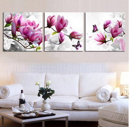 Wholesale Triptych Cross Stitch Kits - Wholesale-Precise printing fabric cross stitching kit counted embroidery pattern diy needlework set 11ct dmc triptych flower unfinished