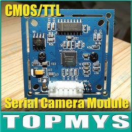 Wholesale Camera Program - Wholesale-JPEG Color Camera Infrared RS-232 Serial Port Camera Module TM-S403,Full Source Program Free Shipping