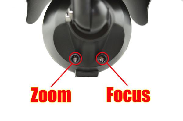 Gros-1280 * 960 P 1.3MP avec 2MP 2.8 ~ 12mm Varifocal zoom caméra IP Caméra 42 IR leds ONVIF étanche IR CUT Plug and Play, livraison gratuite
