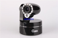 Gros-Wireless WiFi Caméra IP Webcam IR Nightvision PTZ Cam 2 Audio-caméra optique de CCTV Zoom 300K Pixels freeshipping S582
