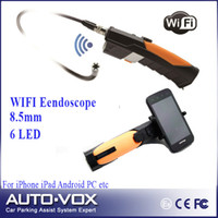 Großhandels-intelligentes Telefon Unterstützung WIFI Video Endoskop Inspection Camera Endoskopendoscope SnakeScope 8,5 mm + 1 m Kabel