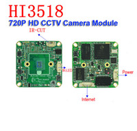 Atacado-720P IP HD bordo Camera Web Cam Hi3518C DSP 1/4