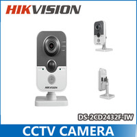 Camera Atacado-Hikvision DS-2CD2432F-IW 3MP Rede IP Microfone embutido DWDR 3D DNR BLC Wi-Fi