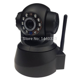 Wholesale Cctv Card Software - Wholesale-Wireless Security Camera Support TF Micro Memory Card Slot Free Iphone Android App Software P2P Camera CCTV Home Security Camera