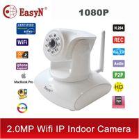 Wholesale Easyn Ptz - Wholesale-EasyN wi-fi wi fi camaras IP camera wifi wireless 1080P 2MP home security HD video cctv TF cam ptz surveillance ir IPC ipcam