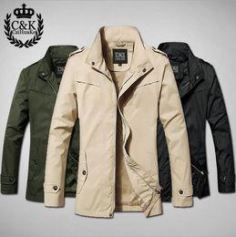 Wholesale Mens Cowl - Wholesale-2015 Spring Men's Trench Coat Casual Fashion Mens Overcoat Wind Breaker Slim Parker Matching Windbreaker Men Jackets Cheap