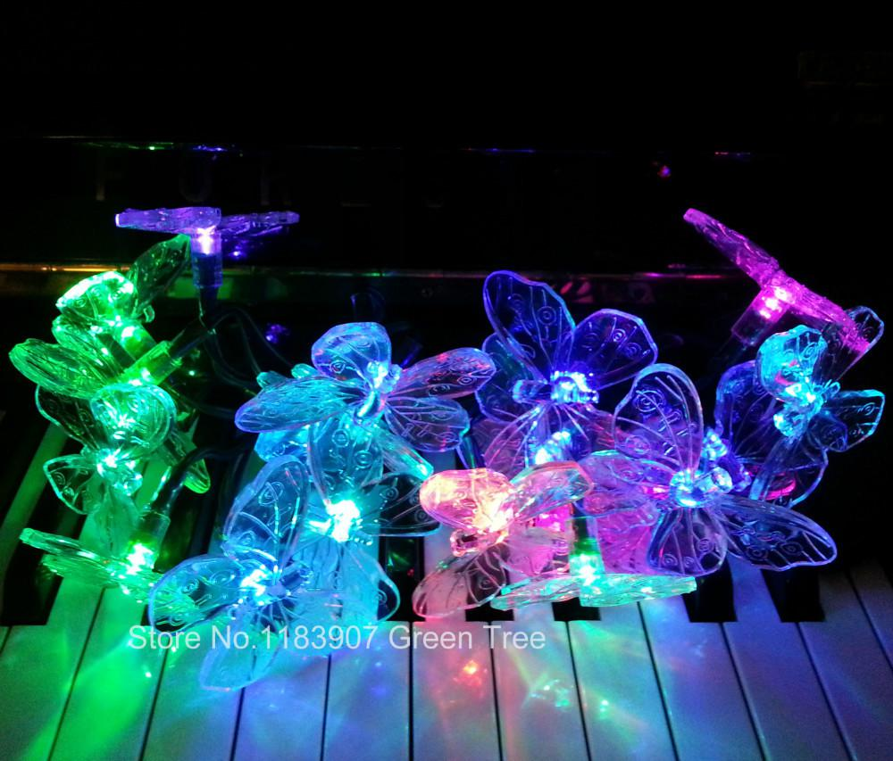 Cheap Solar String Light Colorful 100 Images Solascape