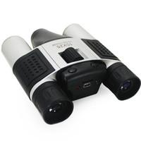 Wholesale Digital Video Camera Binoculars - Wholesale-1.3MP 10x25 Zoom Digital Camera Binoculars Telescope Video Recorder Camcorder DV Free Shipping & Drop Shipping