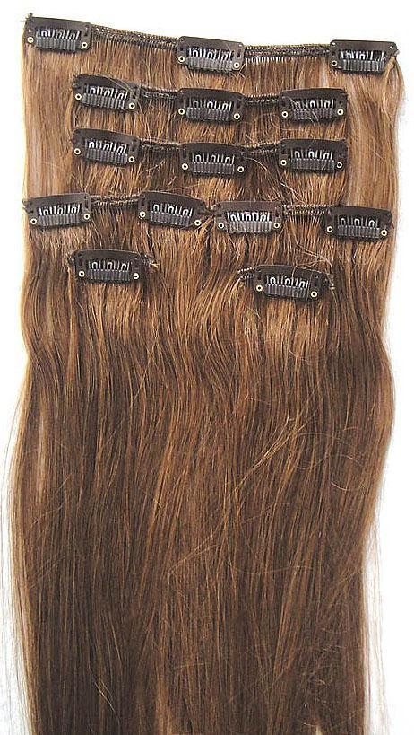 20inch remy 100 human hair extensionclip inon hair extensions see larger image pmusecretfo Image collections