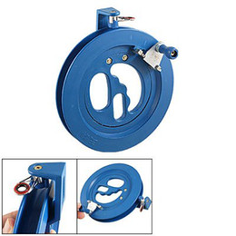 Wholesale Kites Blue Reel - Wholesale-Round Kite Tool Ballbearing Blue Plastic Reel Line Winder