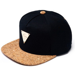 Wholesale Hater Hats - Wholesale-In Stock! 2015 Spring Brand New Fashion Leather+cotton HATER snapback baseball cap hip hop gorras hat&caps for men women