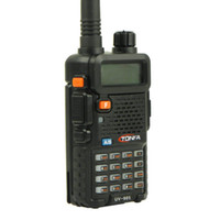 2015 walkie talkie de doble banda 8W 128CH UV-985 VOX DTMF Offset radio de dos vías A1002A Interphone Transceptor