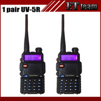 Wholesale Cheapest Baofeng - 2015 Cheapest 2 pcs  set Baofeng UV 5R Portable Dual band VHF UHF two way radio 136-174 400-520 ham cb radio uv-5r Walkie Talkie