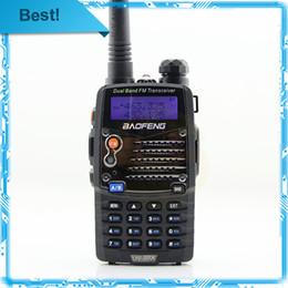 Dual Band Uhf Vhf Portable Canada - Wholesale-Baofeng UV-5RA UV 5RA Two Way Ham CB Portable Radio Comunicador Amador VHF UHF Dual Band Walkie Talkie PTT PMR Walk Talk